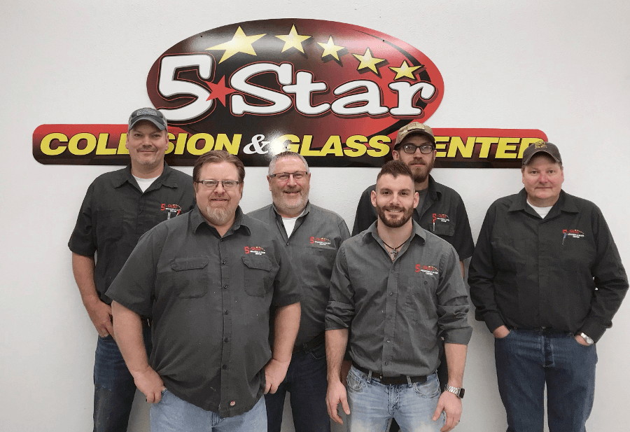 5-Star Collision Team - Your Grand Forks Auto Body and Dent Repair Team