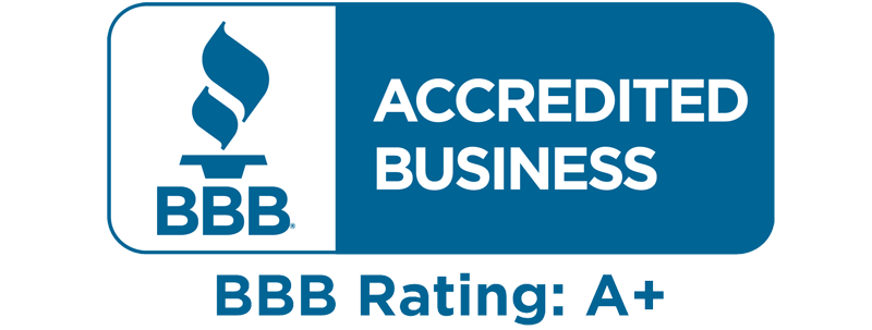 BBB Accredited A+ Business